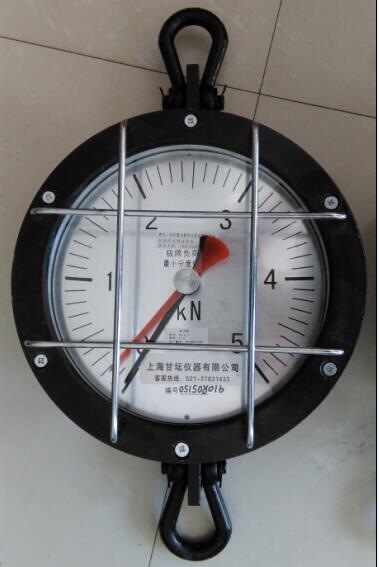 供电系统用FX-3吨机械式拉力表  双针显示