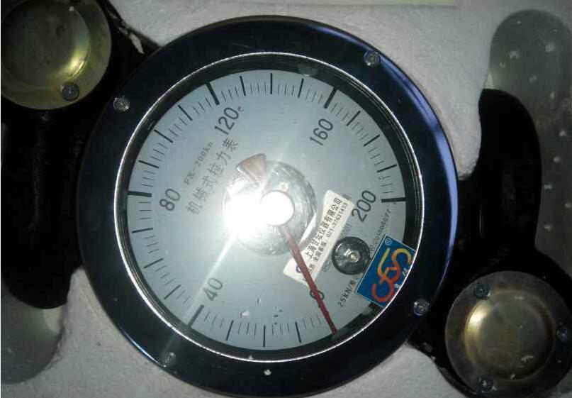 石油用拉力表 选型:FX-16吨 井深:3500-4000用