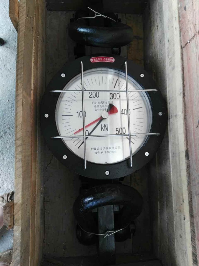 50T拉力表价格.3000m井架用机械式拉力表