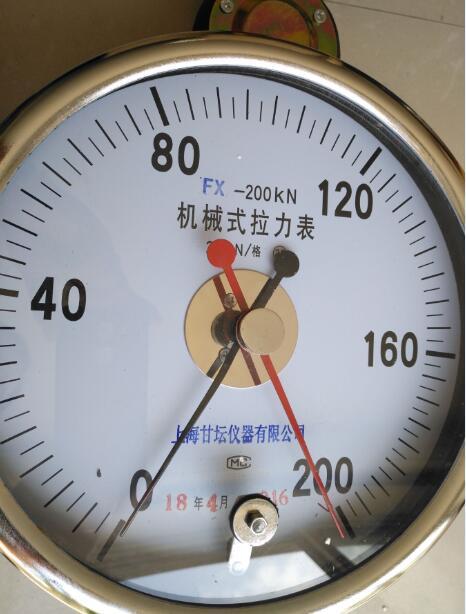 160kn 18吨 20t拉力表_矿井用高清机械式测力计